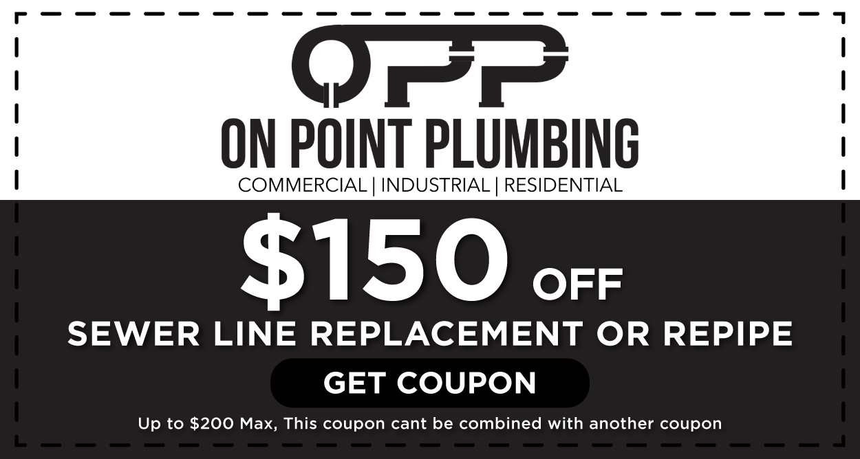 Sewer Line Replacement Repipe Coupon Houston