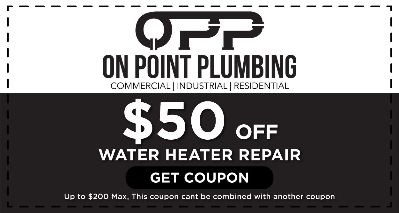 Water Heater Repair Coupon Houston