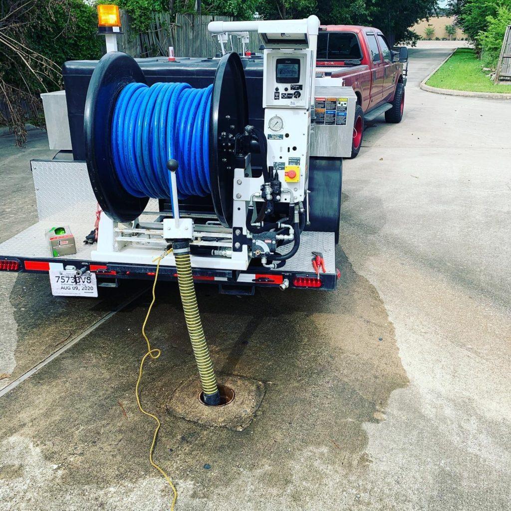 Hydrajetting Plumbing Houston